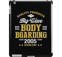 Bodyboarding Extreme Sport  iPad Case/Skin