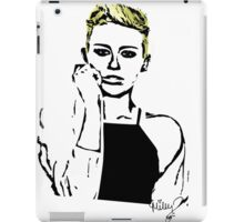Blue Eyed Miley iPad Case/Skin