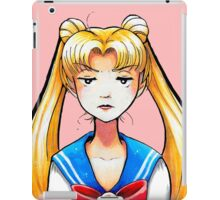 Scowling Sailor iPad Case/Skin
