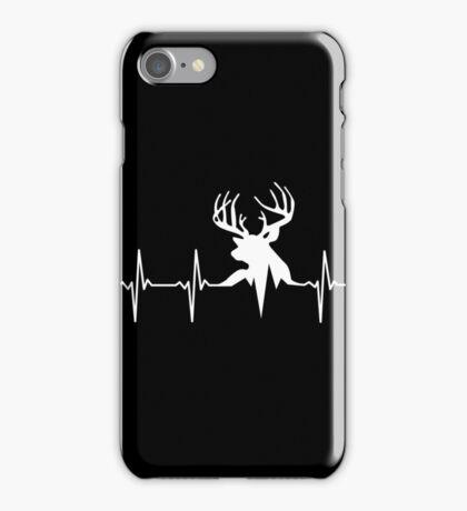 Hunting Deer Heartbeat Deer iPhone Case/Skin