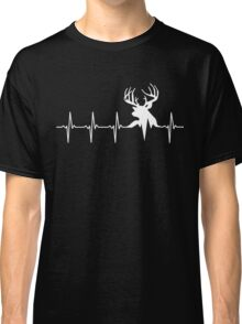 Hunting Deer Heartbeat Deer Classic T-Shirt