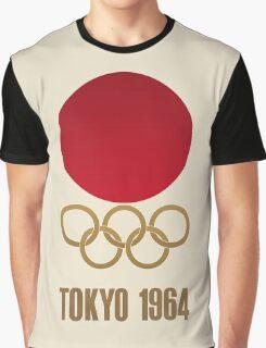 Japan Retro Tokyo Olympics 1964 Graphic T-Shirt