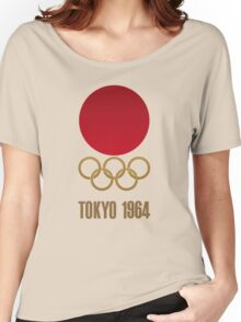 Japan Retro Tokyo Olympics 1964 Women's Relaxed Fit T-Shirt