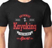 Kayaking Extreme Sport W&R Art Unisex T-Shirt