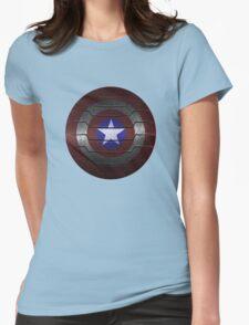 Metal Steve and Bucky Shield T-Shirt