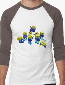 Servbots Men's Baseball ¾ T-Shirt