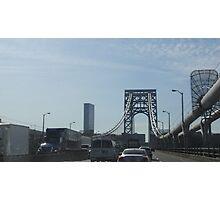 Washington Bridge - NY, NY 2016 Photographic Print
