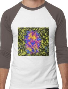Psychedelic Smiles Men's Baseball ¾ T-Shirt