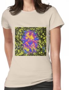 Psychedelic Smiles Womens Fitted T-Shirt