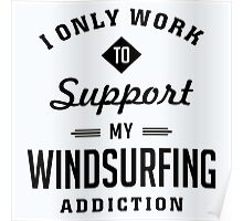 Windsurfing Extreme Sport Poster
