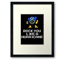 Airman Rocks you like a Hurricane Framed Print