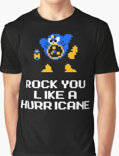 Airman Rocks you like a Hurricane Graphic T-Shirt