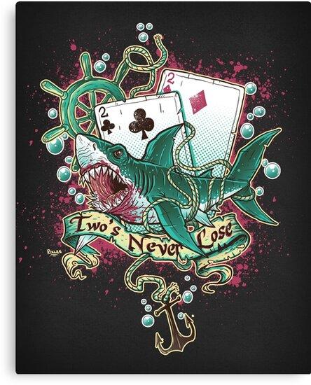 Poker Shark (black)  by sirhcsellor