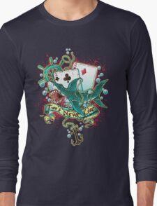 Poker Shark (black)  Long Sleeve T-Shirt