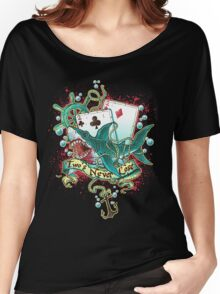 Poker Shark (black)  Women's Relaxed Fit T-Shirt