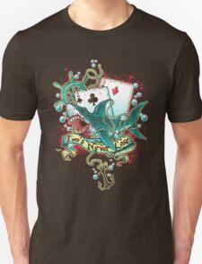Poker Shark (black)  Unisex T-Shirt