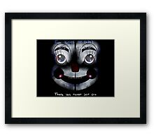 FNAF Sister Location: There was never just one Framed Print
