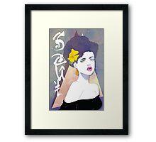 Flirty SOUL Framed Print