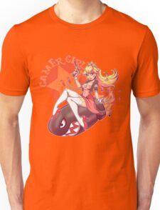 Gamer Girl Peach Unisex T-Shirt