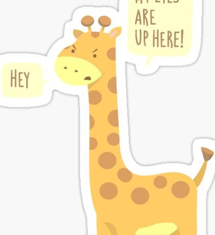 Giraffe Problems! Sticker