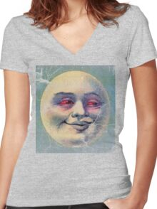 high noon Women's Fitted V-Neck T-Shirt