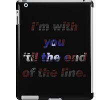 Steve and Bucky Quote iPad Case/Skin