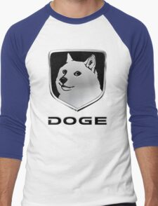 Dodge Ram ''DOGE'' Logo Men's Baseball ¾ T-Shirt