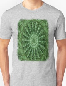 Green Stripes Kaleidoscope 8 Unisex T-Shirt
