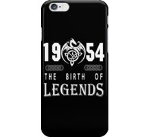 1954 - THE BIRTH OF LEGENDS iPhone Case/Skin