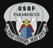 USAF Pararescue - Air Force Parachute Rescue Kids Tee