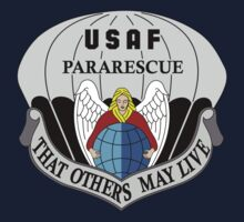USAF Pararescue - Air Force Parachute Rescue One Piece - Short Sleeve