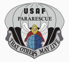 USAF Pararescue - Air Force Parachute Rescue One Piece - Long Sleeve