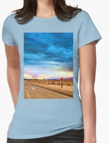 Creepy Weather Womens Fitted T-Shirt