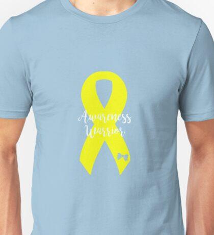 Awareness Warrior - Yellow Unisex T-Shirt
