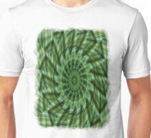Green Stripes Kaleidoscope 6 Unisex T-Shirt