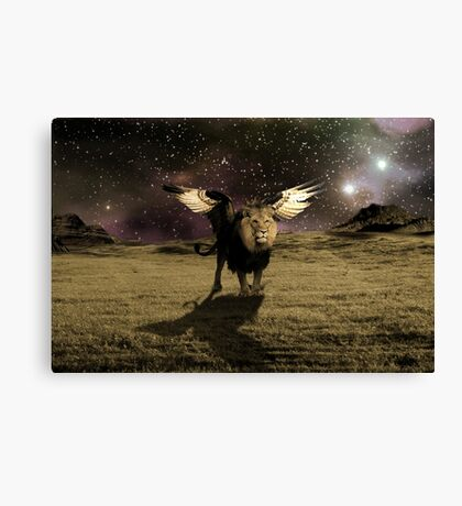 Leo's Home Canvas Print