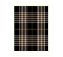00272 Alliance of Border Scots Tartan  Art Print