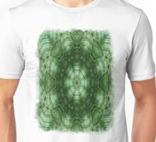 Green Stripes Kaleidoscope 5 Unisex T-Shirt