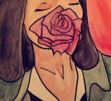 Mrs. Mia Wallace Sticker