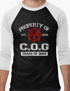 Property of COG - White Men's Baseball ¾ T-Shirt