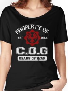 Property of COG - White Women's Relaxed Fit T-Shirt