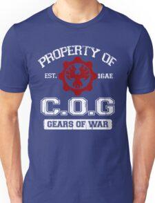 Property of COG - White Unisex T-Shirt