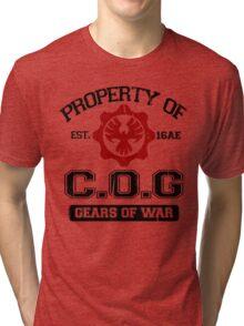 Property of COG - Black Tri-blend T-Shirt