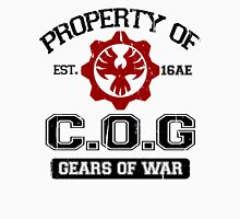 Property of COG - Black Men's Baseball ¾ T-Shirt