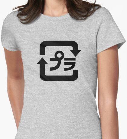 (* >ω<) Do You Have Plastic Parts? Womens Fitted T-Shirt
