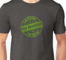 Green Eco Friendly Stamp Unisex T-Shirt