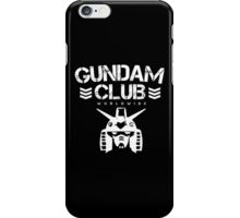Gundam Club Worldwide iPhone Case/Skin