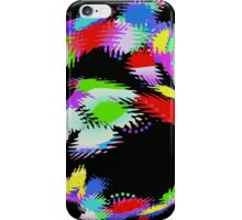 Patches of Black - Abstract - Digital Art iPhone Case/Skin