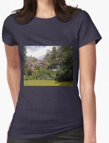 Band Rotunda, Cataract Gorge, Launceston, Tasmania Womens Fitted T-Shirt