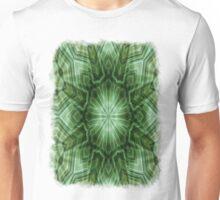 Green Stripes Kaleidoscope 3 Unisex T-Shirt